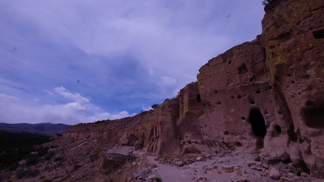 Puye Cliffs, New Mexico