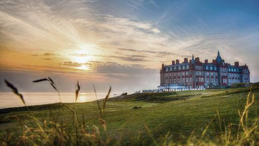 The Headland hotel and spa in Cornwall, UK, was used in the filming of The Witches.