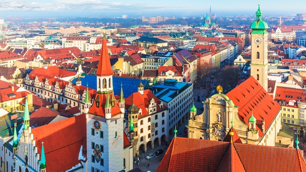 A view over the city of Munich in Germany (scanrail / iStock / Getty Images Plus)