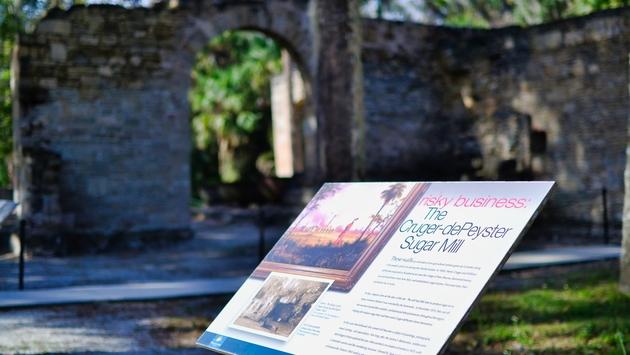 New Smyrna Beach, sugar mill ruins, historic park